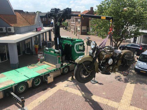 Scania R500 + HMF 952 - Autolaadkraan Verwijsverhuur b.v. GOES -Zierikzee- Oosterland - Zeeland -Rotterdam