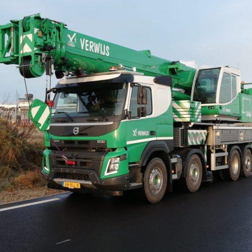 VOLVO - TADONA HK 40 Telescoop kraan huren rotterdam - Zeeland - Breda - Roosendaal