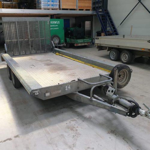 Machine Transporter Aanhanger